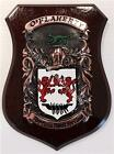 Chicester to Clifton Family Handpainted Coat of Arms Crest PLAQUE Shield