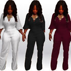 2016 New Womens Sexy Bodycon Bandage One Piece Jumpsuit Playsuit Romper Trousers