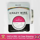 0.5mm (24 AWG) - Comp SS316 (Marine Grade Stainless Steel) Wire - 3.93 ohms/m
