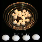 Lots of Floating Candle Disc Floater Candles Wedding Party Home Unscented White