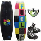 FUEL Respect 140 Wakeboard Package Base Unite Wakeboardbindung mit Hantel