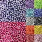 100 Pcs & 8mm Screw Acrylic Rhinestone Spacer Loose Beads For Jewelry Making