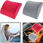 Memory Foam Lumbar Back Support Cushion Travel Pillow Car Seat Home Office Chair