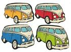 50x65cm VW Campervan Shaped Design Indoor Outdoor Coir Door Mat Doormat