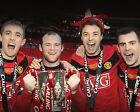 MANCHESTER UNITED LEAGUE CUP WINNERS 2010 01 (FOOTBALL) PHOTO PRINT