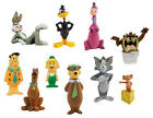 "2 LOONEY TUNES HANNA-BARBERA CLASSIC TV SHOW NEW CARTOON 1"" MINI MICRO FIGURES"