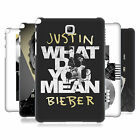 OFFICIAL JUSTIN BIEBER BLACK AND WHITE HARD BACK CASE FOR SAMSUNG TABLETS 1