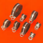 High Quality Rubber Lined Zinc Plated Steel P Clips - Fasteners Cable & Tubing