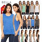 Bella + Canvas Women's Flowy Scoop Muscle TanK Top Shirt M-B8803