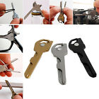 6 in 1 Multi-function Folding Utili-key Chain Opener Cutter Screwdriver Tools