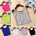 1PC Candy Fashion Womens Girls  Lace Tank Top Vest Camisole Crop Shirt T-Shirt