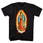 "Black Scale ""Guadalupe"" Short Sleeve Tee (Black) Men's Virgin Mary T-Shirt"