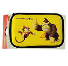 RDS Nintendo 3DS Game Traveler Protective Case Donkey and Diddy Kong Yellow