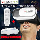 Google Cardboard VR BOX Virtual Reality DIY 3D Glasses Bluetooth Control Gamepad