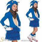 Official Girls Sonic The Hedgehog Boom Fancy Dress Costume Child Outfit