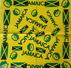 Jamaica Flag Bandana Headwear/Hairband Bandanna Band Scarf Wrist Wrap Headtie B4