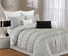 romantica 4 piece luxury duvet cover set