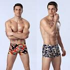 New Men Boxer Shorts Briefs Special Print Underpants Underwear Bulge Pouch G4Q8