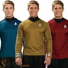 Adult Mens Star Trek Shirts Official Scotty Kirk Spock Fancy Dress Costume on eBay