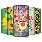 HEAD CASE DESIGNS SUNFLOWER HARD BACK CASE FOR LG PHONES 1