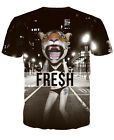 Fashion Summer Tee For Men/Women 3D Print Funny Casual Short Sleeve T-shirt