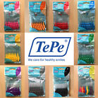 TePe Interdental Brushes, Various Sizes & Colours, Packet of 8