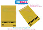 D1 / D Size Bubble Padded Gold Envelope Mailing Post Bag 180 x 265mm Pukka Pad