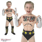 FANCY DRESS COSTUME ~ CHILDS BOYS WWE WRESTLING DELUXE CM PUNK OUTFIT AGES 3-8
