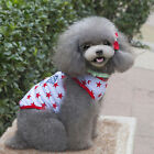 Cute Pet Summer T-Shirt Star Letter Print Shirt Vest Dog Cat Puppy Apparel S-XXL