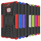 For Huawei P9 Case Heavy Duty Impact Hybrid Armor Kickstand Phone Cover