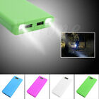 USB Mobile Power Bank Charger DIY Pack 8x 18650 Battery Case Holder for Phone