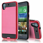 Hybrid Shockproof Armor Case Cover+Tempered Glass Screen for HTC Desire 626 626S