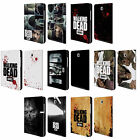 OFFICIAL AMC THE WALKING DEAD LOGO LEATHER BOOK CASE FOR SAMSUNG GALAXY TABLETS