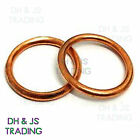 Sump Washers Copper Rubber Nylon Bonded Seals Aluminium Fibre Sealing Oil Sump