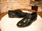 Twiggy London Black Patent Lace-up Brogues Oxfords NEW