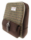 Harris Tweed Unisex Backpack Available In 3 Colour LB1013