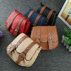 Casual Women Leather Crossbody Messenger Bag Shoulder Bag Satchel Hanbag Y8U1