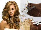"""16"""" 18"""" 20"""" Skin Tape in 100% Remy Human Hair Extensions Grade AAA UK"""
