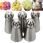 Sphere Ball Tip Nozzles Icing Piping Russian Nozzle Cake Buttercream Baking US