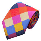 Coloured Silk Italian Designer Tie Tie's 4 Weddings Proms Formal Occasions Work