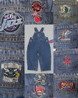 NBA REEBOK TODDLER DENIM BLUE JEAN OVERALLS COVERALLS CHOICE SIZE / TEAM NEW on eBay