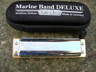 Hohner MARINE BAND DELUXE  PROFESSIONAL 10 HOLE DIATONIC    SPECIAL OFFER £35.99