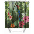 Parrot Family Bathroom Shower Curtain Shower Curtain Ring Pull Easy To Install
