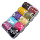 Kyпить 10 Rolls Faux Suede Cord or Elastic Cord Rubber Hanging total 100m на еВаy.соm