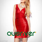 Fashion Women's V Neck Sexy Above Knee Clubwear Charming Party Cocktail Dress