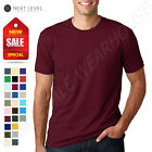 NEW Next Level 100% Cotton Men's Premium Fitted Crew Neck XS
