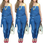 New Women Sleeveless Bodycon Clubwear Long Pants Jumpsuit Romper Playsuit Party