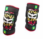 NEW KALI PROTECTIVE AAZIS XC BMX MTB DH SOFT KNEE GUARD RASTA ALL SIZES