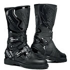 NEW SIDI ADVENTURE RAIN MX MOTOCROSS DIRTBIKE OFFROAD BOOTS BLACK ALL SIZES