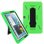 Heavy Duty Hybrid Case Cover with Kickstand for Samsung Galaxy Tab 2 10.1 P5100